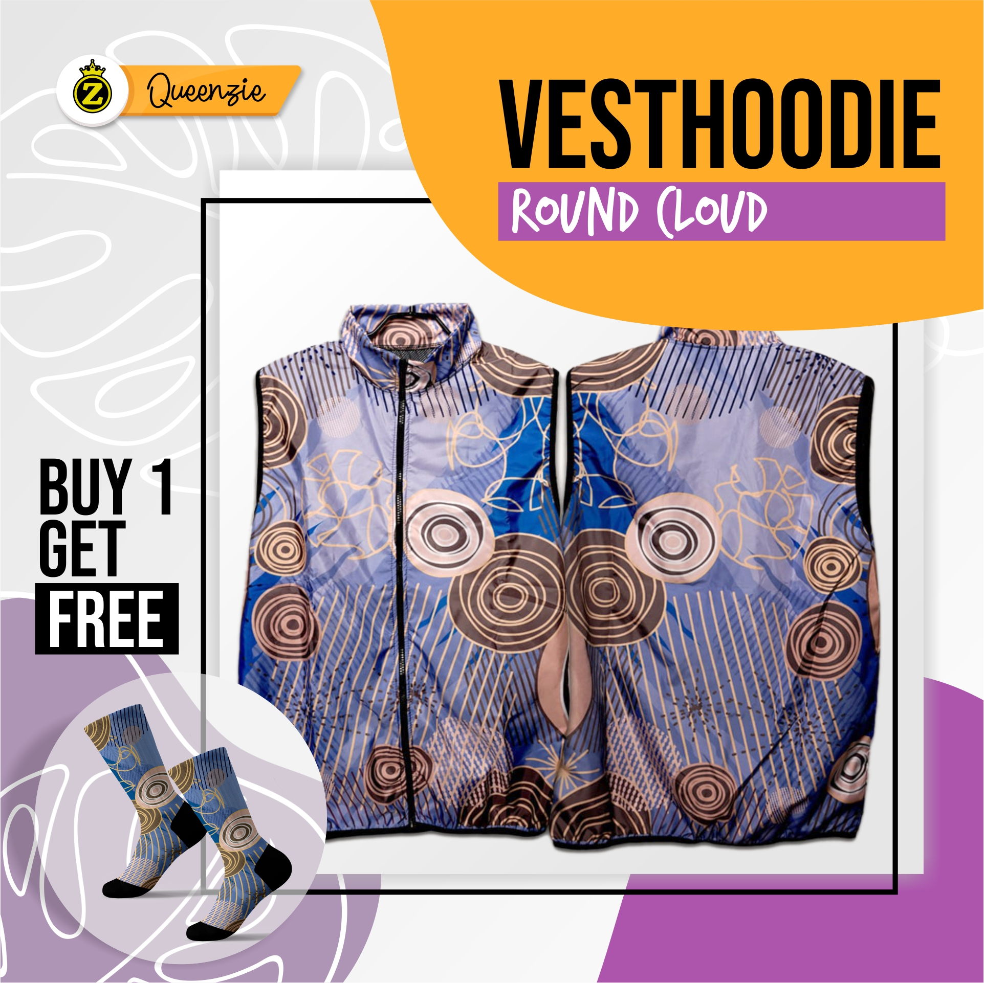 Vesthoodie Round Could Rompi